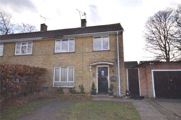 3 Bedrooms End Of Terrace House for sale in Lemington Grove, Bracknell, Berkshire