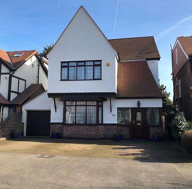4 Bedrooms Detached House for sale in Brandville Gardens, Barkingside, London, IG6 1JG