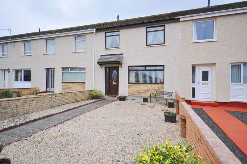 3 Bedrooms Terraced House for sale in 13 Sycamore Drive, Girvan KA26