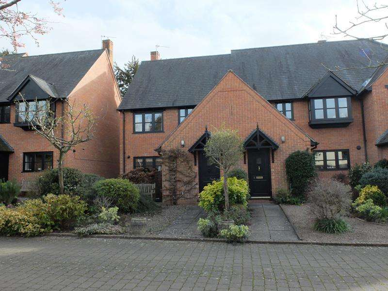 3 Bedrooms Semi Detached House for sale in Ledbury Park, Ledbury, Herefordshire, HR8 1LF
