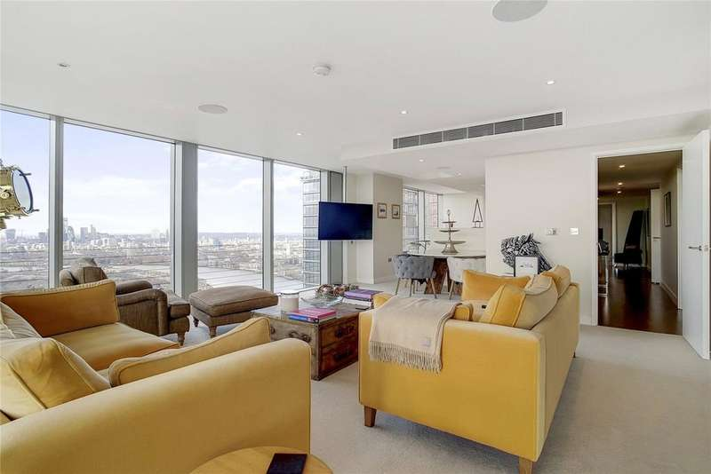 3 Bedrooms Flat for sale in Landmark East, Marsh Wall, London, E14