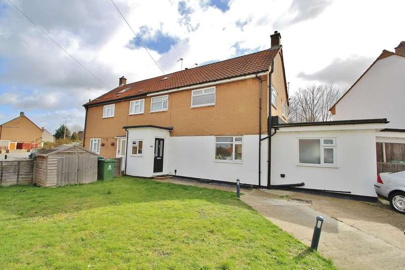 4 Bedrooms Semi Detached House for sale in Stormont Way, Chessington