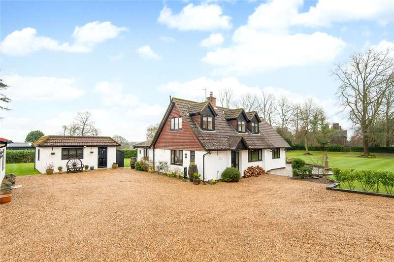3 Bedrooms Detached House for sale in Headley Common Road, Headley, Epsom, Surrey, KT18