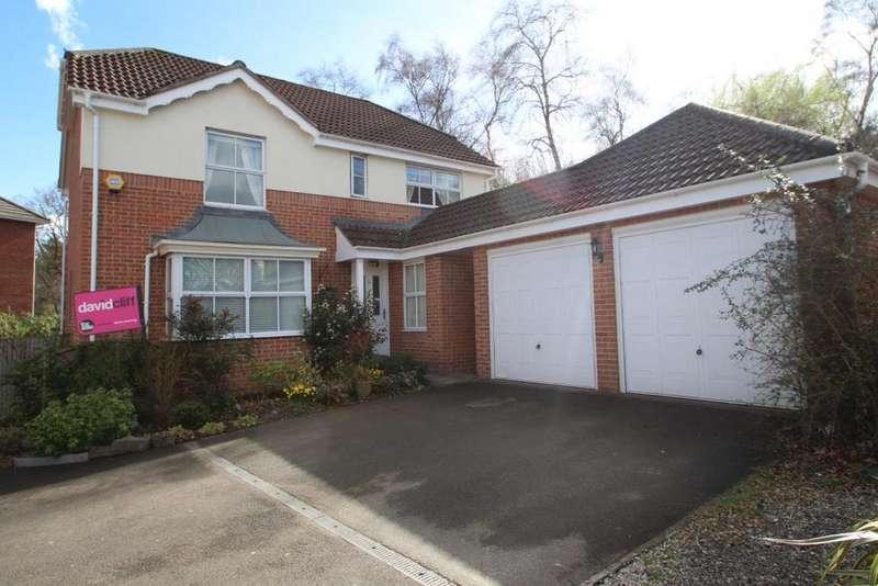 4 Bedrooms Detached House for sale in Neuman Crescent, Bracknell, RG12