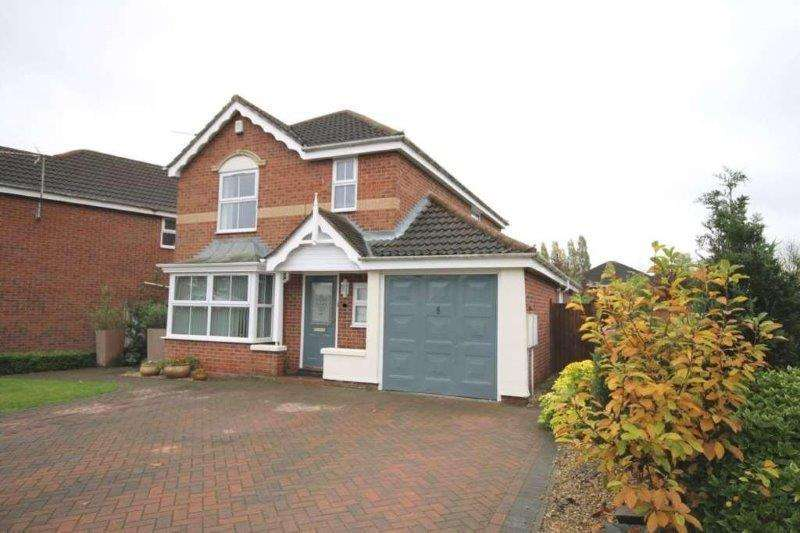 4 Bedrooms Detached House for sale in Cobbett Road, Thorpe Astley, Leicester, Leicestershire, LE3 3RB