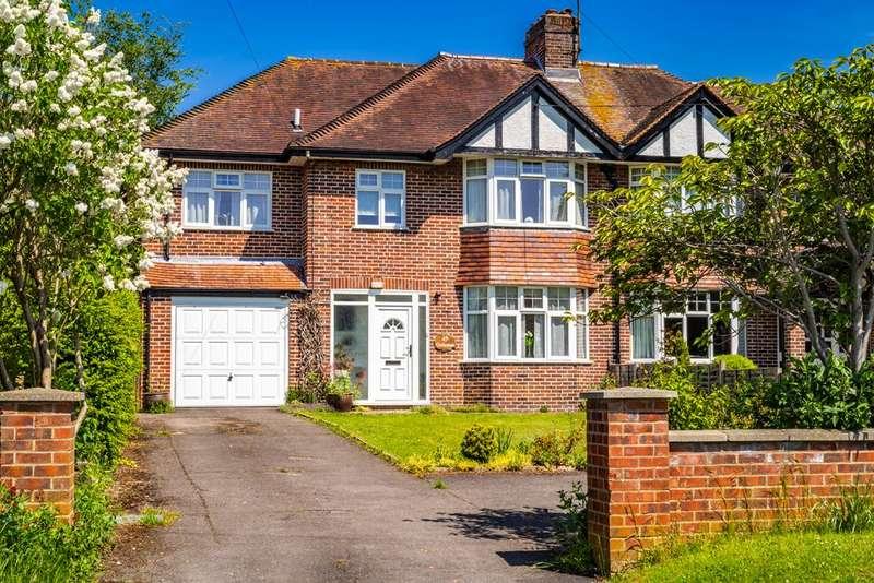 5 Bedrooms Semi Detached House for sale in Gethrange, Goring on Thames, RG8