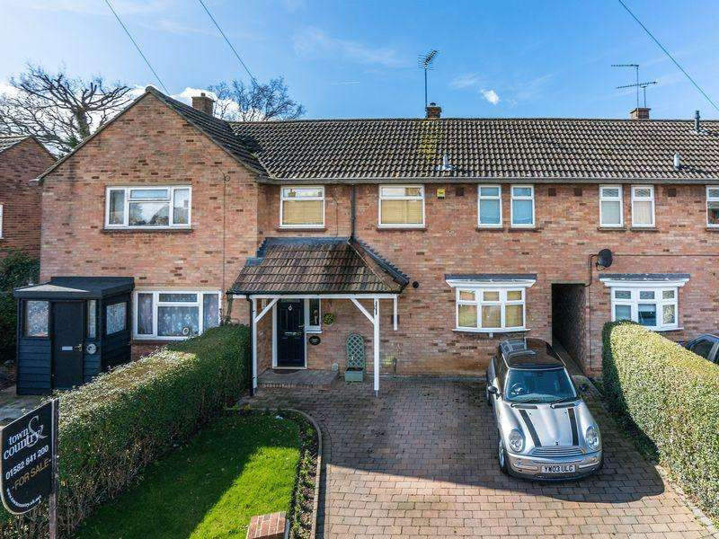 3 Bedrooms Terraced House for sale in Family Home, Caddington