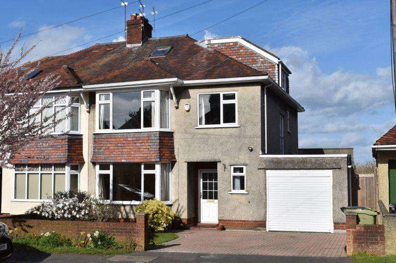 4 Bedrooms Semi Detached House for sale in The Crescent, Henleaze
