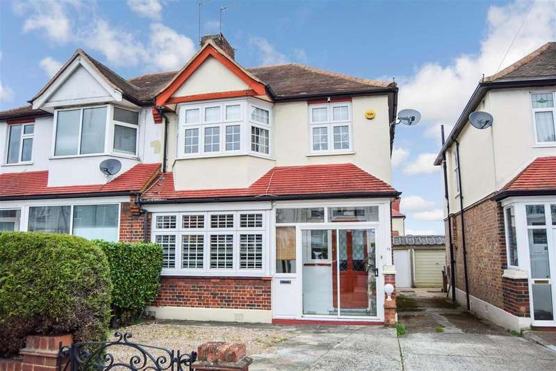 3 Bedrooms Semi Detached House for sale in Hillcross Avenue, Morden