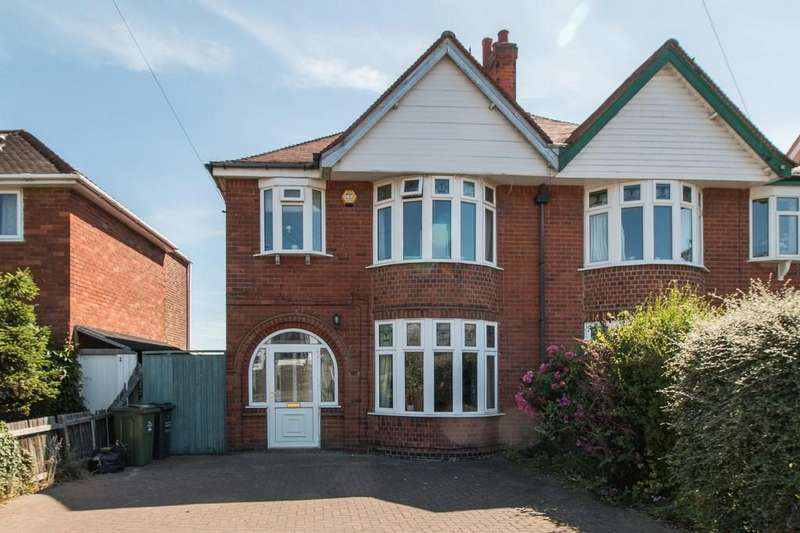4 Bedrooms Semi Detached House for sale in Loughborough Road, Hathern