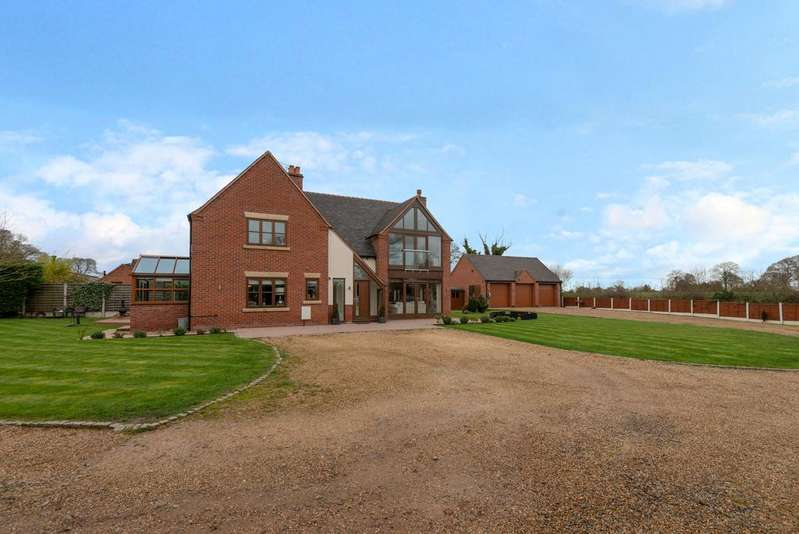 5 Bedrooms Detached House for sale in NEWPORT ROAD, HAUGHTON, STAFFORD ST18