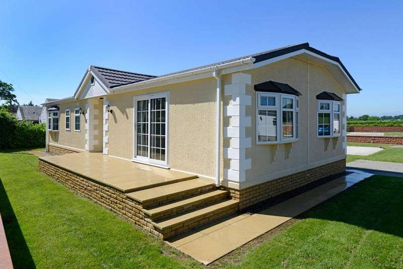 2 Bedrooms Park Home Mobile Home for sale in Johnstonebridge Dumfries and Galloway