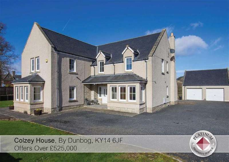 5 Bedrooms Detached House for sale in Colzey House, By Dunbog, KY14