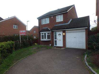 3 Bedrooms Detached House for sale in Brampton Close, Bedford, Bedfordshire, .