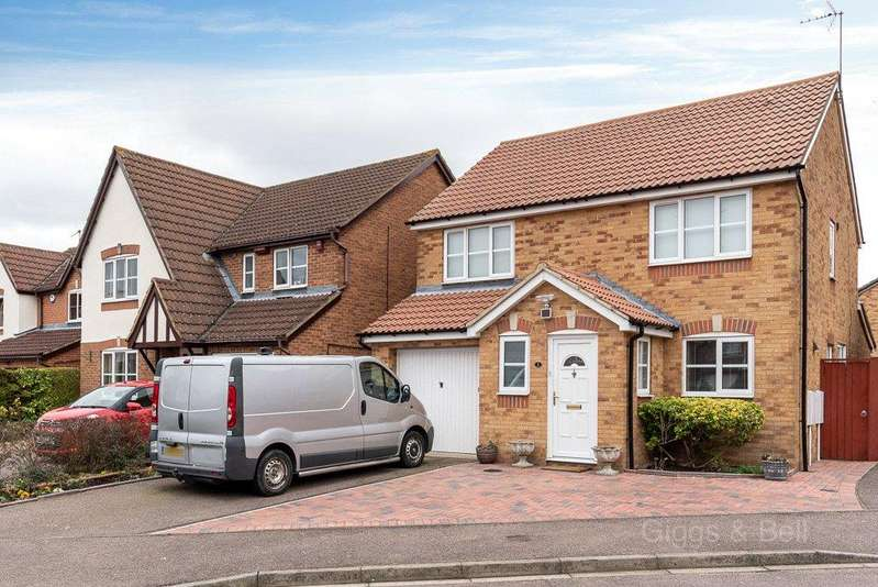 4 Bedrooms Detached House for sale in Graphic Close, Dunstable, Bedfordshire, LU6