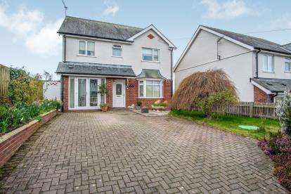 4 Bedrooms Detached House for sale in Fron Daniel, Llandaniel Fab, Ynys Mon, Anglesey, LL60