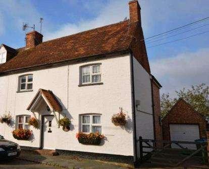 3 Bedrooms End Of Terrace House for sale in High Street, Whaddon, Milton Keynes, Buckinghamshire