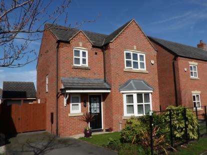 3 Bedrooms Detached House for sale in Powder Mill Road, Warrington, Cheshire