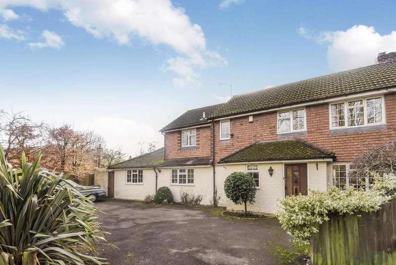 4 Bedrooms Semi Detached House for sale in Binfield Road, Wokingham, RG40