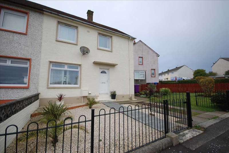 2 Bedrooms Semi Detached House for sale in Pladda Road, Saltcoats