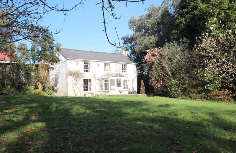 6 Bedrooms Unique Property for sale in 17.75 acre smallholding with 2 dwellings, Allet, Truro TR4