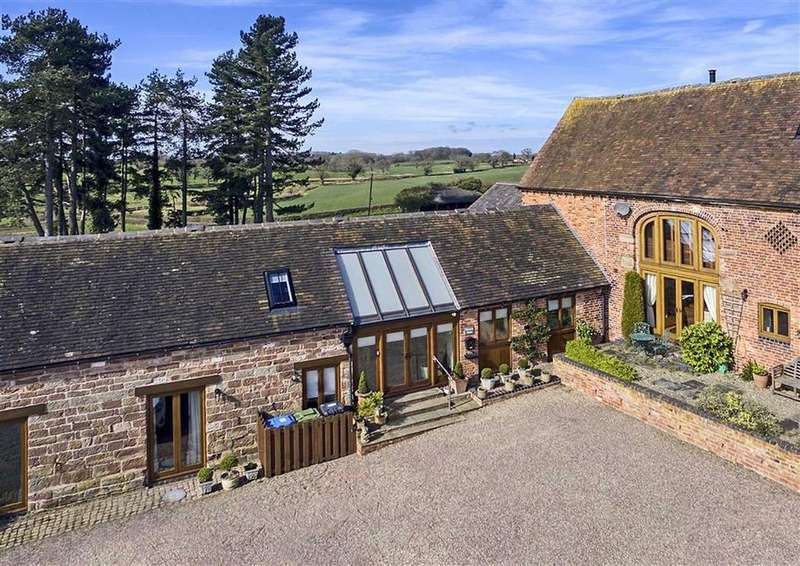 4 Bedrooms Barn Conversion Character Property for sale in Weston View, Watery Bank, Bishops Wood, Stafford, South Staffordshire, ST19