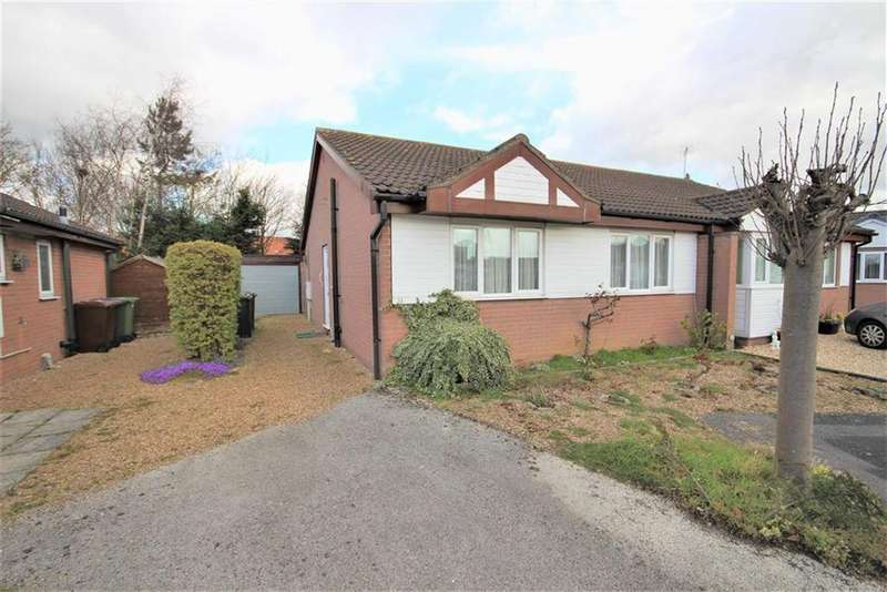 2 Bedrooms Semi Detached Bungalow for sale in Snetterton Close, Lincoln, Lincolnshire