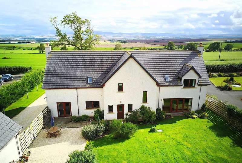 4 Bedrooms Detached House for sale in Braeside, Hume Holdings, Hume TD10 6UW