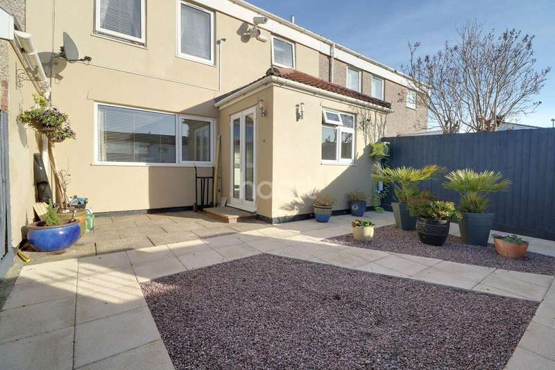 3 Bedrooms Terraced House for sale in Rodfords Mead, Hengrove, Bristol, BS14
