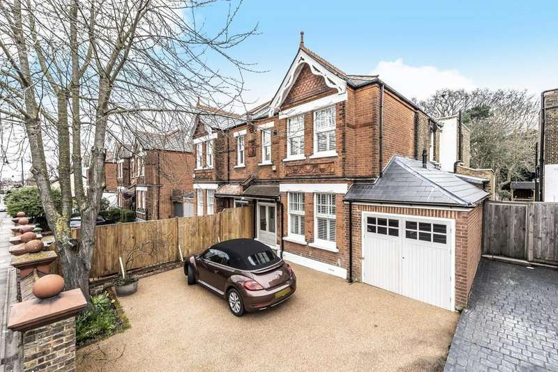 4 Bedrooms Semi Detached House for sale in Green Lane, Chislehurst