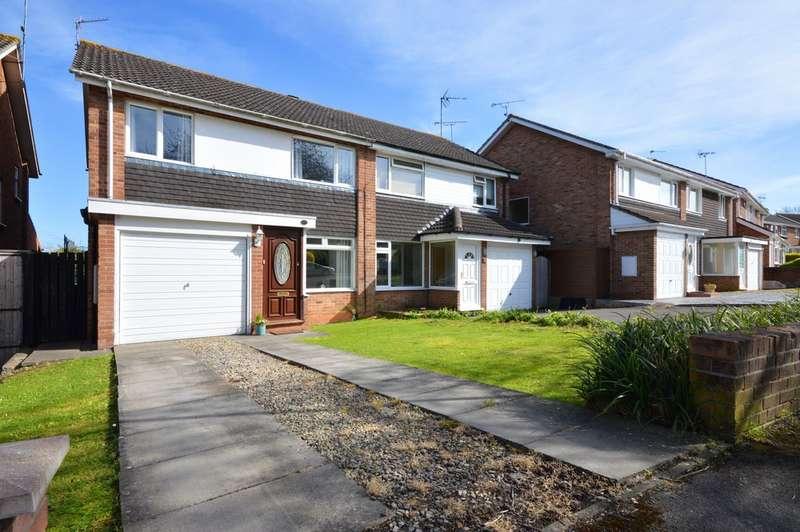 3 Bedrooms Semi Detached House for sale in Hurn Lane, Keynsham, BS31