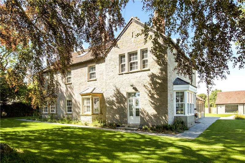 5 Bedrooms Detached House for sale in Chessels Lane, Charlton Adam, Somerton, Somerset, TA11