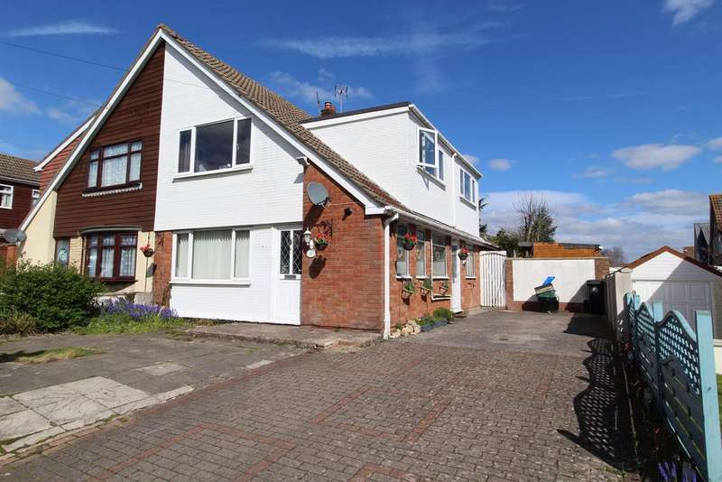 4 Bedrooms Semi Detached House for sale in Coape Road, Stockwood, Bristol, BS14 8TN