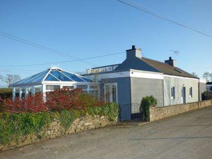 3 Bedrooms Detached House for sale in Llangristiolus, Bodorgan, Anglesey, LL62