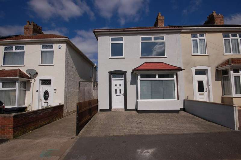 4 Bedrooms End Of Terrace House for sale in Monks Avenue, Kingswood, Bristol BS15 1DJ