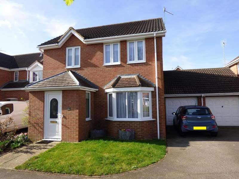 3 Bedrooms Detached House for sale in Shearers Drive, Spalding
