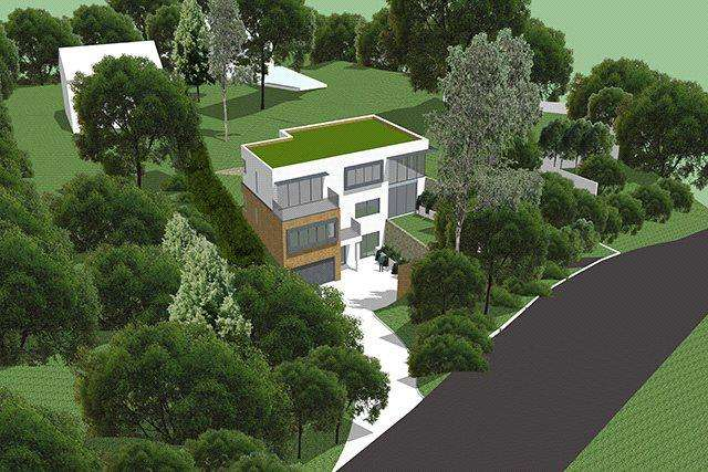 5 Bedrooms Detached House for sale in Mount Road, Hook Heath, Woking