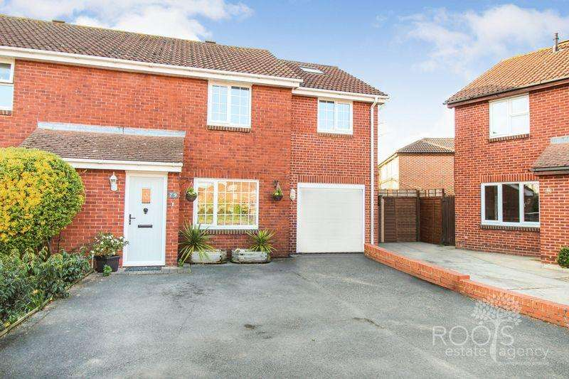 4 Bedrooms Semi Detached House for sale in Blackdown Way, Thatcham