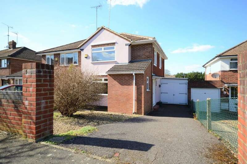 3 Bedrooms Semi Detached House for sale in Dell Road, Tilehurst