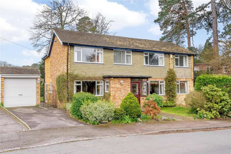 4 Bedrooms Detached House for sale in Cardwell Crescent, Sunninghill, Berkshire