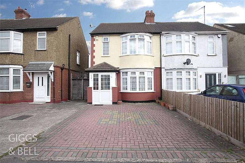3 Bedrooms Semi Detached House for sale in Beechwood Road, Luton, Bedfordshire, LU4