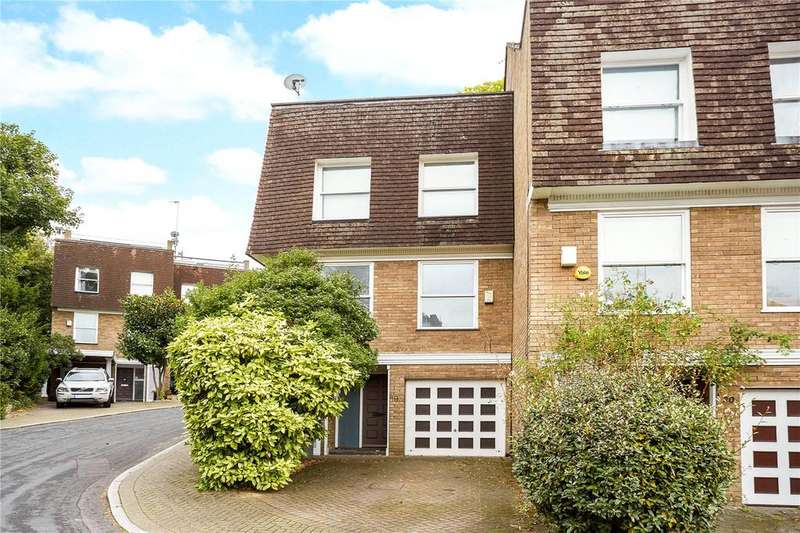 4 Bedrooms End Of Terrace House for sale in Welford Place, Wimbledon, London, SW19