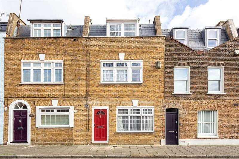 3 Bedrooms Terraced House for sale in Boston Place, London