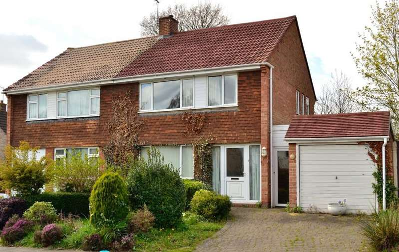3 Bedrooms Semi Detached House for sale in Lakeside, Reading