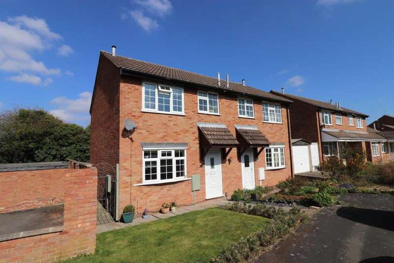 3 Bedrooms Semi Detached House for sale in Kestrel Road, Melton Mowbray