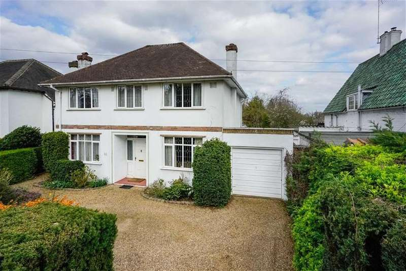 4 Bedrooms Detached House for sale in Marshalswick Lane, St Albans, Hertfordshire