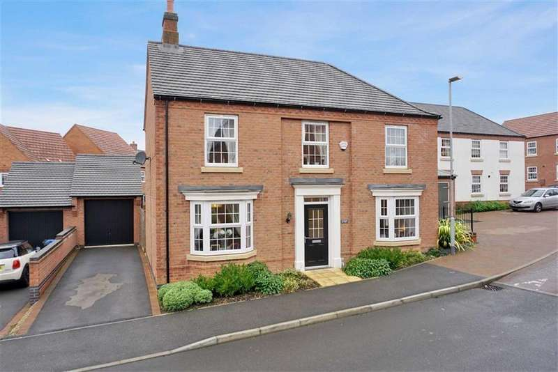 4 Bedrooms Detached House for sale in Longbreach Road, Kibworth, Leicester