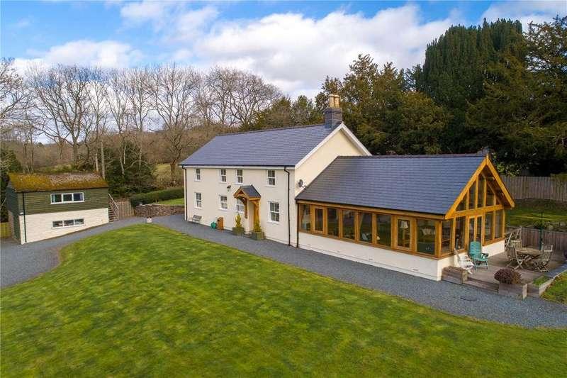 4 Bedrooms Detached House for sale in Franksbridge, Llandrindod Wells, Powys