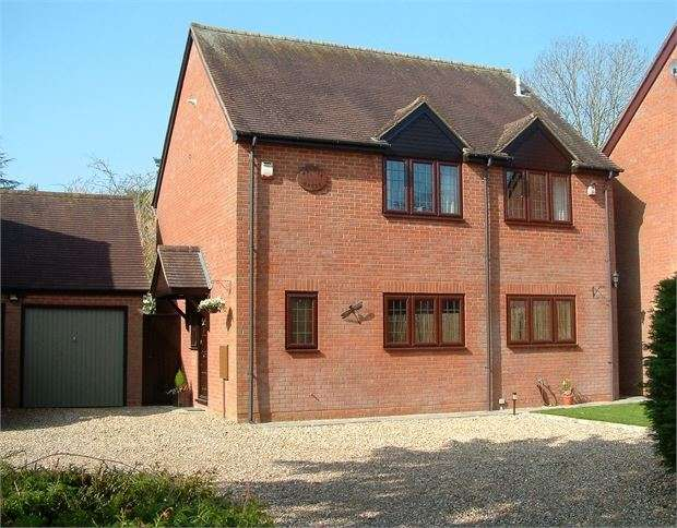 4 Bedrooms Detached House for sale in Rectory Gardens, Edgcott, Buckinghamshire. HP18 0TY