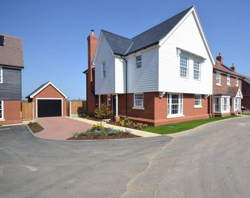 4 Bedrooms Detached House for sale in Plot 9 The Ashes, Back Road, Writtle, CM1